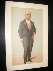 Vanity Fair Print 1895 Francois Felix, President of the French Republic